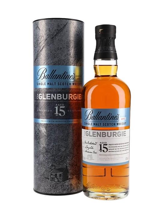 Ballantine's The Glenburgie 15 Years Old Speyside Whisky