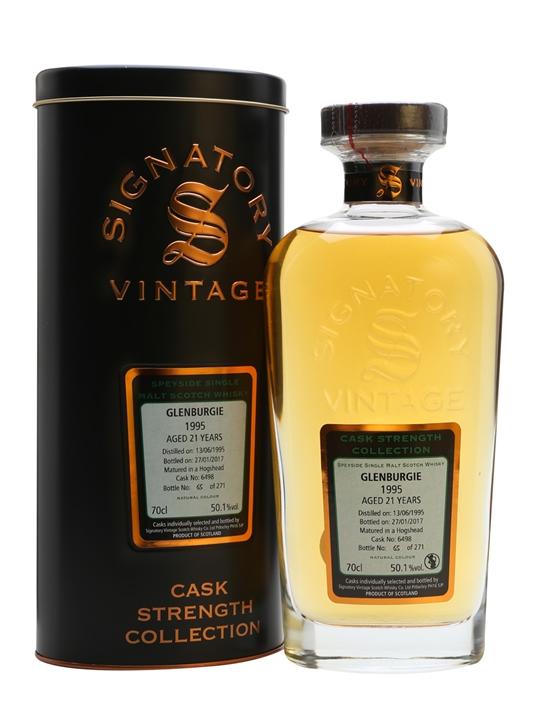 Glenburgie 1995 / 21 Year Old / Signatory Speyside Whisky