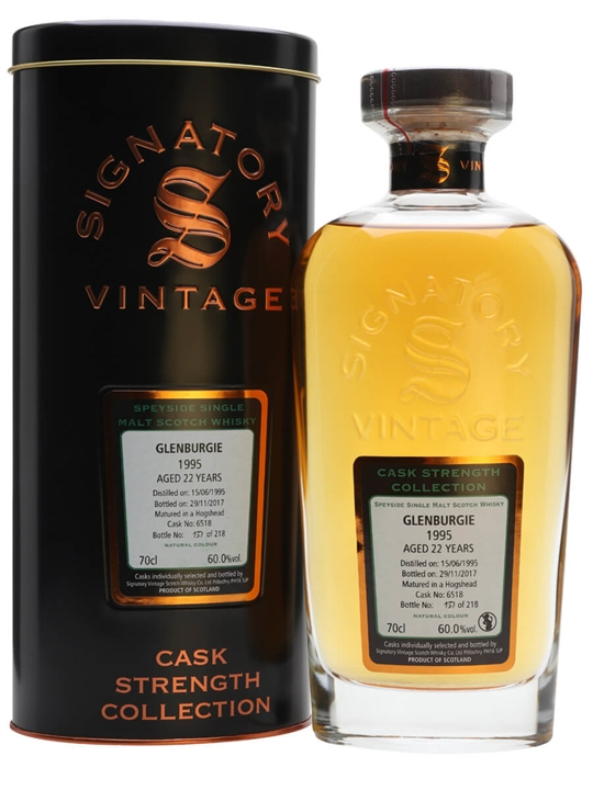 Glenburgie 1995 / 22 Year Old / Signatory Speyside Whisky