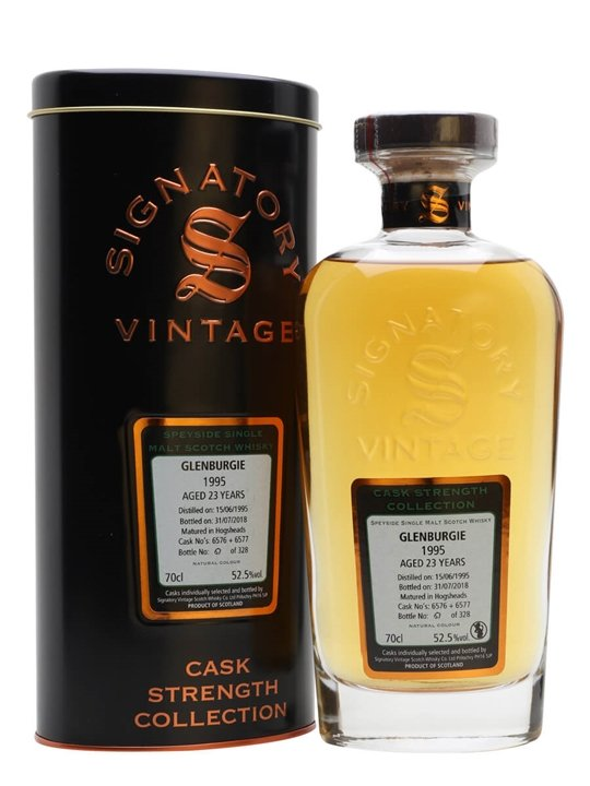 Glenburgie 1995 / 23 Year Old / Signatory Speyside Whisky