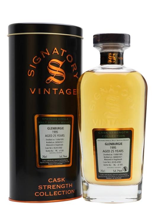 Glenburgie 1995 / 25 Year Old / Signatory Speyside Whisky