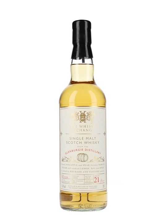 Glenburgie 1998 / 21 Year Old / The Whisky Exchange Speyside Whisky