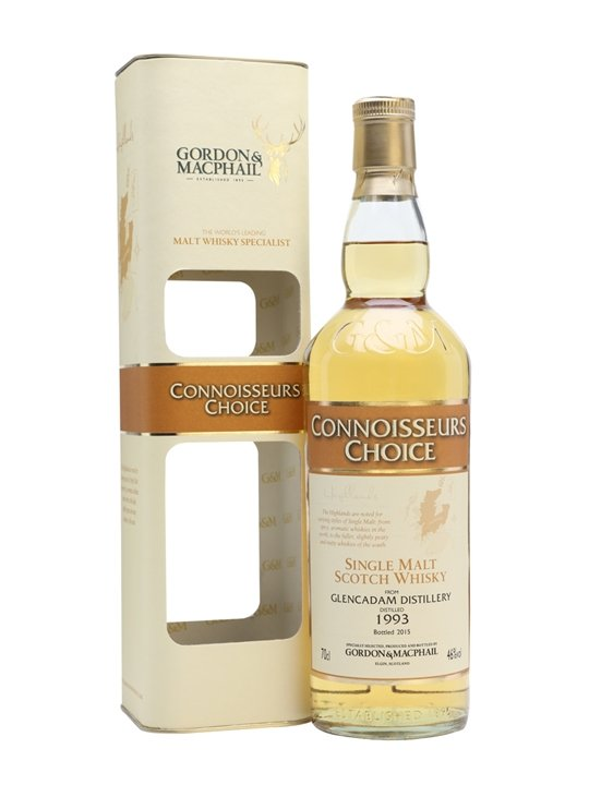 Glencadam 1993  / Bot.2015 / Connoisseurs Choice Highland Whisky