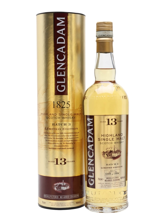 Glencadam 13 Year Old / Batch 3 Highland Single Malt Scotch Whisky