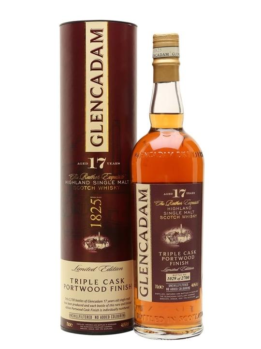Glencadam 17 Year Old Portwood Finish / Triple Cask Highland Whisky