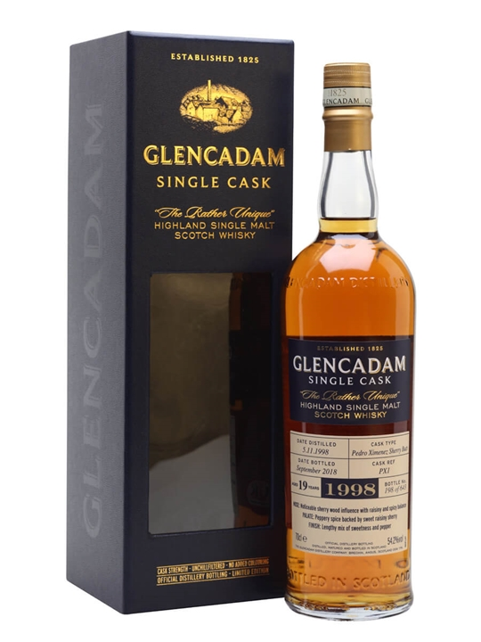 Glencadam 1998 / 19 Year Old / Sherry Cask Highland Whisky