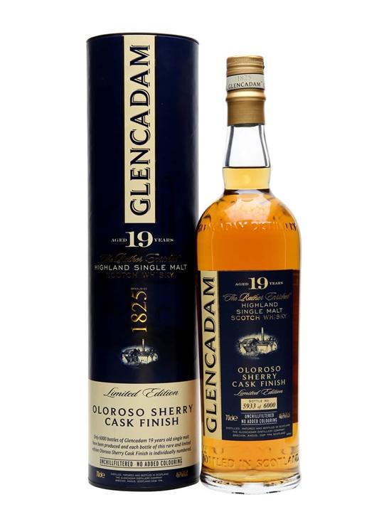 Glencadam 19 Year Old Oloroso Sherry Finish Highland Whisky