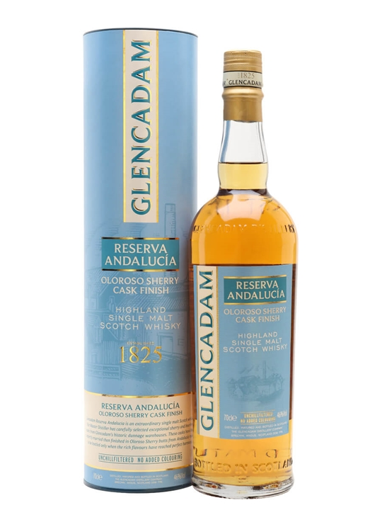 Glencadam Reserva Andalucia / Sherry Finish Highland Whisky