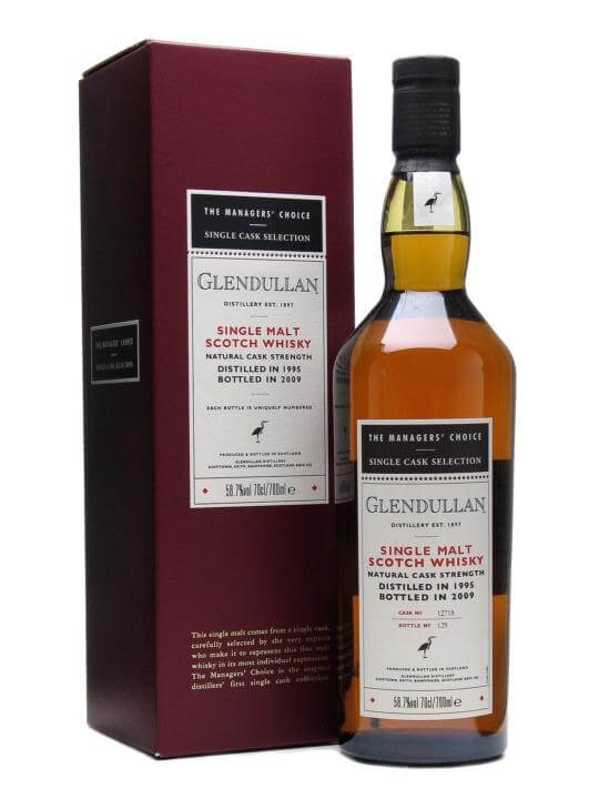 Glendullan 1995 / 13 Year Old / Managers' Choice Speyside Whisky