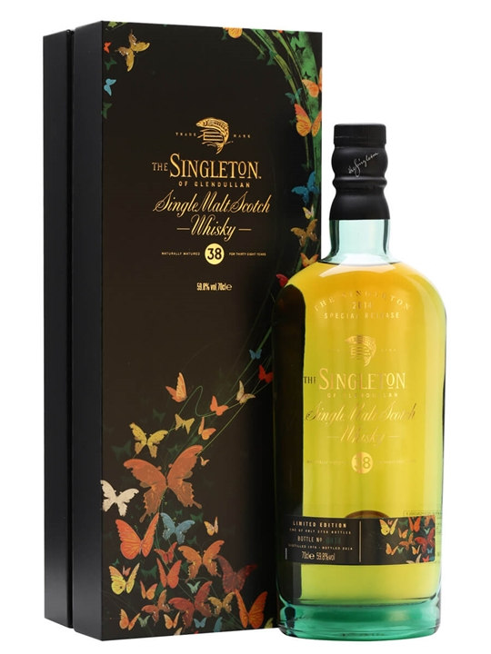 Singleton Of Glendullan 38 Year Old / Special Releases 2014 Speyside Whisky