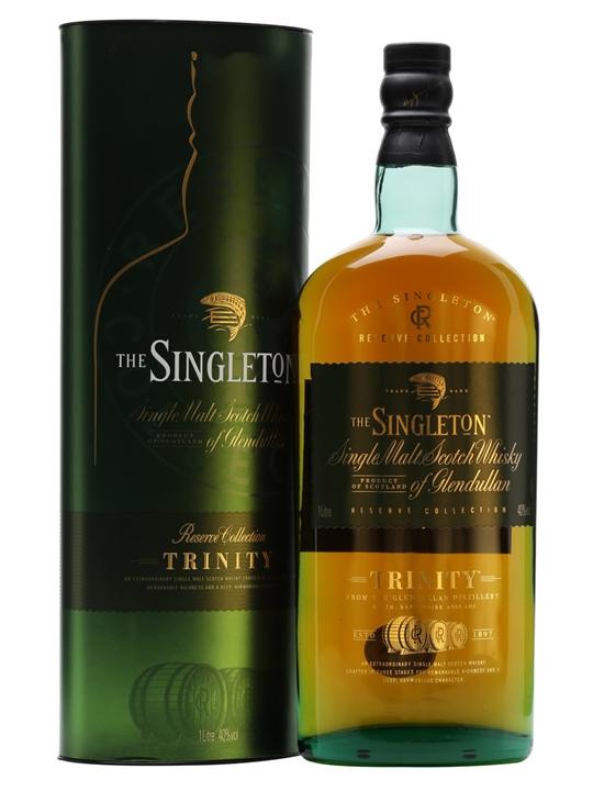 Singleton Of Glendullan Trinity / Litre Speyside Whisky