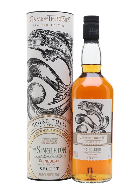 Singleton Glendullan Reserve / Game of Thrones House Tully Speyside Whisky