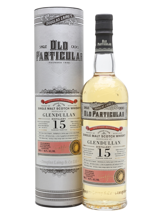 Glendullan 1999 / 15 Year Old / Old Particular Speyside Whisky