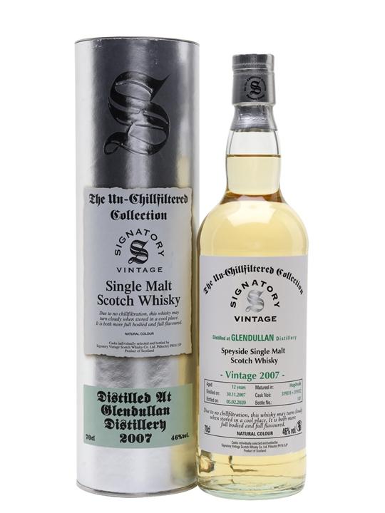 Glendullan 2007 / 12 Year Old / Signatory Speyside Whisky