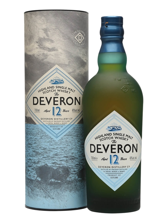 The Deveron 12 Year Old Highland Single Malt Scotch Whisky