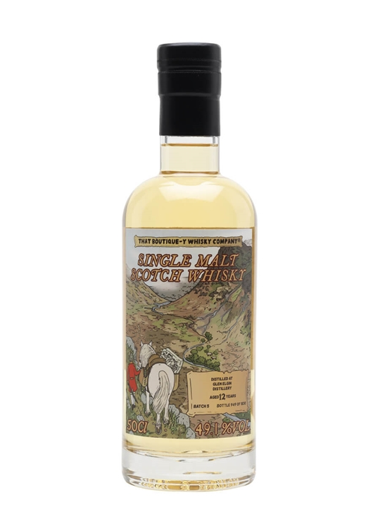 Glen Elgin 12 Year Old / Batch 5 / That Boutique-y Whisky Company Speyside Whisky