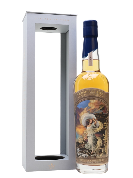 Compass Box Myths and Legends II Speyside Single Malt Scotch Whisky