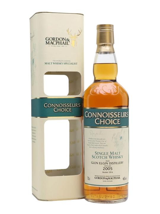 Glen Elgin 2005 / Bot.2016 / Connoisseurs Choice Speyside Whisky