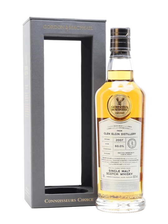 Glen Elgin 2007 / 12 Year Old / Sherry Cask / Connoisseurs Choice Speyside Whisky