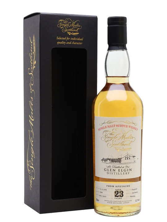 Glen Elgin 1995 / 23 Year Old / Single Malts Of Scotland Speyside Whisky