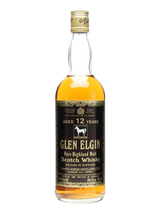 Glen Elgin 12 Year Old / Bot.1970s Speyside Single Malt Scotch Whisky