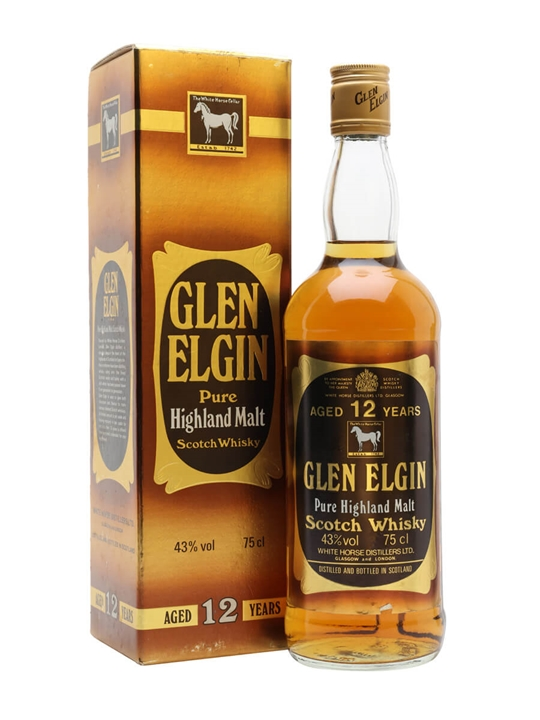 Glen Elgin 12 Year Old / Bot.1980s Speyside Single Malt Scotch Whisky