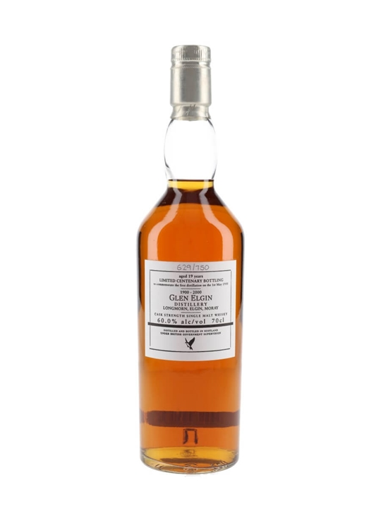 Glen Elgin 19 Year Old / Centenary Speyside Single Malt Scotch Whisky