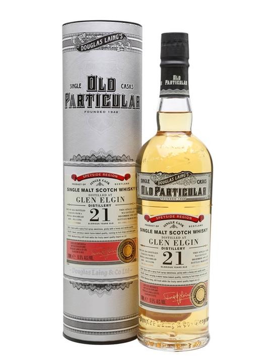 Glen Elgin 1995 / 21 Year Old / Old Particular Speyside Whisky