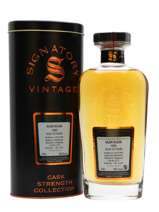 Glen Elgin 1995 / 24 Year Old / Signatory Speyside Whisky