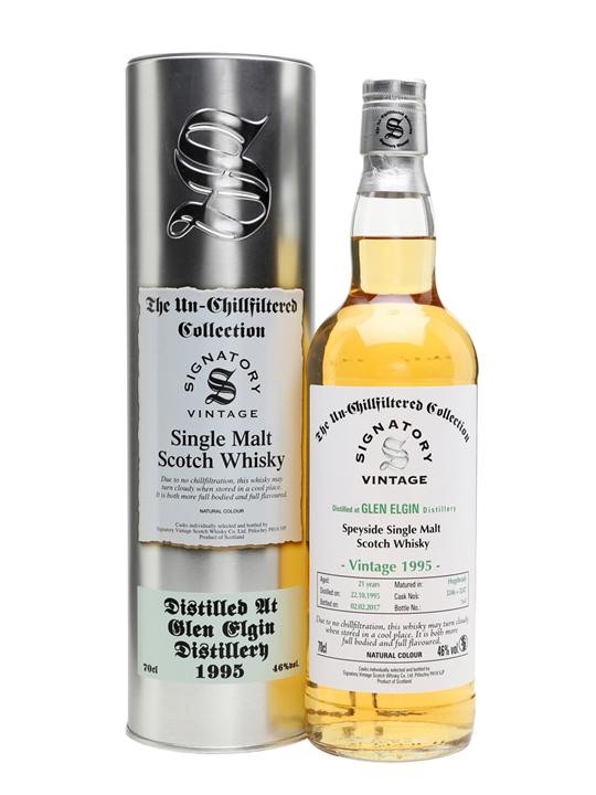 Glen Elgin 1995 / 21 Year Old / Cask #3246+3247 Speyside Whisky