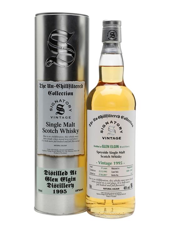 Glen Elgin 1995 / 21 Year Old / Signatory Speyside Whisky