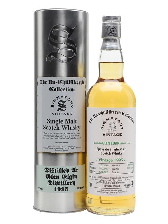 Glen Elgin 1995 / 21 Year Old / Cask 3260+1 / Signatory Speyside Whisky