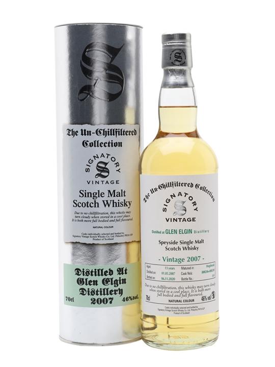 Glen Elgin 2007 / 13 Year Old / Signatory Speyside Whisky