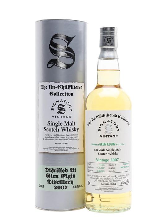 Glen Elgin 2007 / 14 Year Old / Signatory Speyside Whisky