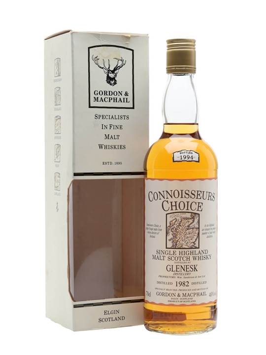 Glenesk 1982 / Bot.1994 / Connoisseurs Choice Highland Whisky