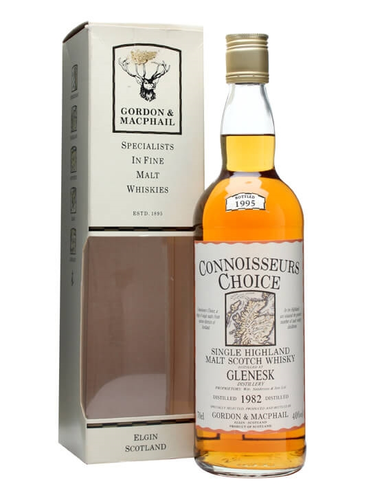 Glenesk 1982 / Bot.1995 / Connoisseurs Choice Highland Whisky