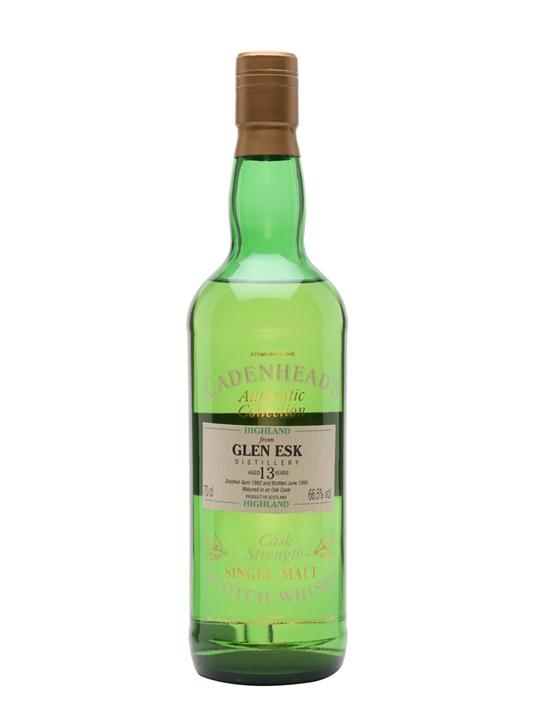 Glenesk 1982 / 13 Year Old / Bot.1995 / Cadenhead's Highland Whisky