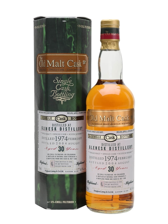 Glenesk 1974 / 30 Year Old / Old Malt Cask Highland Whisky