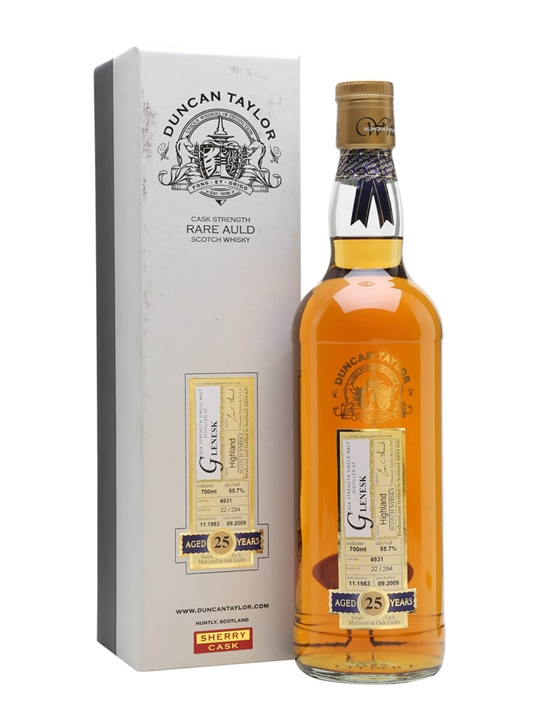 Glenesk 1983 / 25 Year Old / Duncan Taylor Highland Whisky