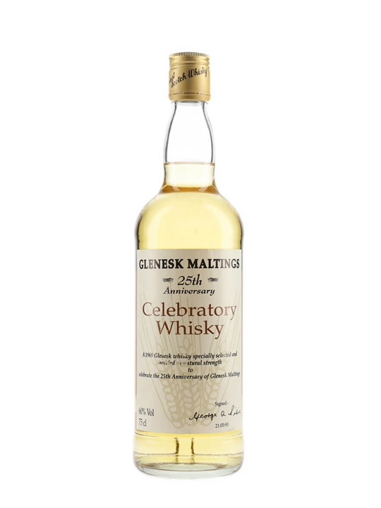 Glenesk Maltings 1969 / 25th Anniversary of Glenesk Maltings Highland Whisky