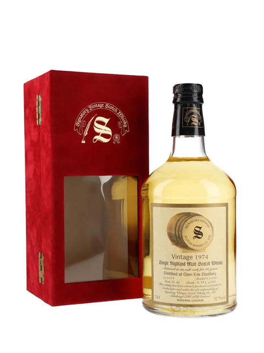 Glenesk 1974 / 26 Year Old / Signatory Highland Whisky