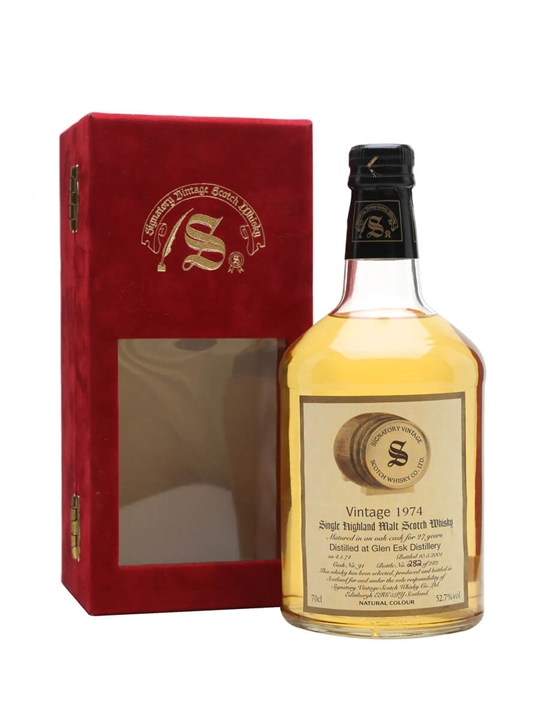Glenesk 1974 / 27 Year Old / Signatory Highland Whisky