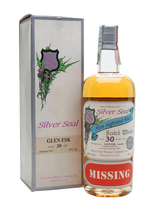 Glenesk 1971 / 30 Year Old / Silver Seal Highland Whisky