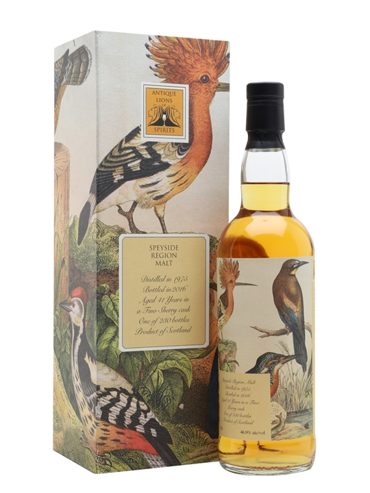 Speyside Region Malt 1975 / 41 Year Old Speyside Whisky