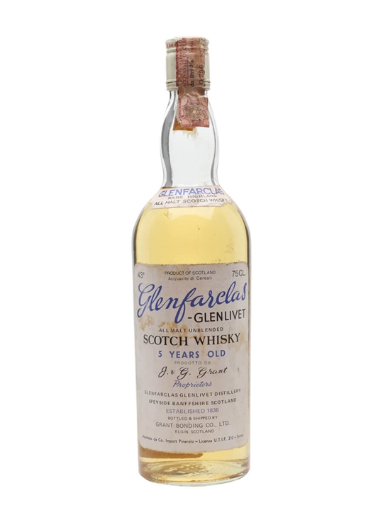 Glenfarclas 5 Year Old / Bot.Early 1970s Speyside Whisky
