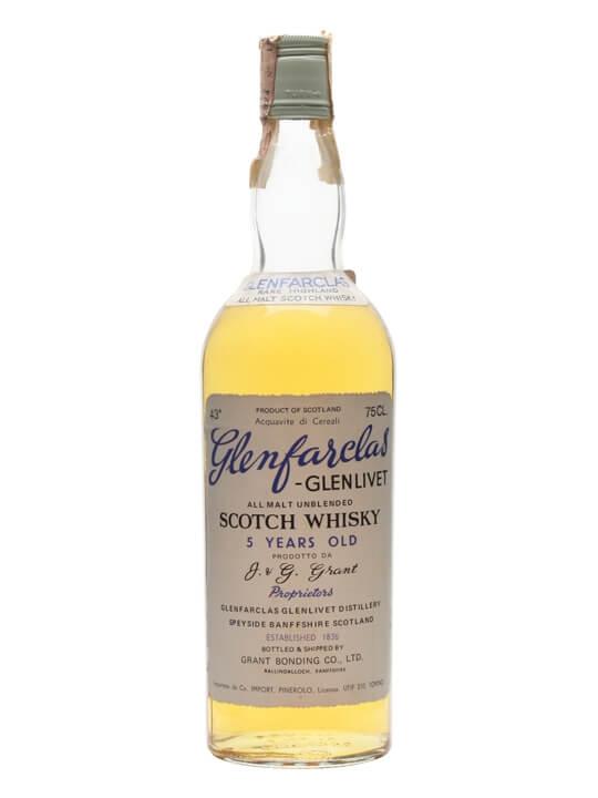 Glenfarclas 5 Year Old / Bot.Early 1970s Speyside Whisky