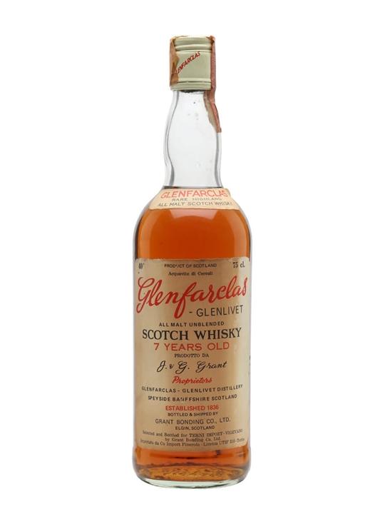 Glenfarclas-Glenlivet 7 Year Old / Bot.1970s Speyside Whisky