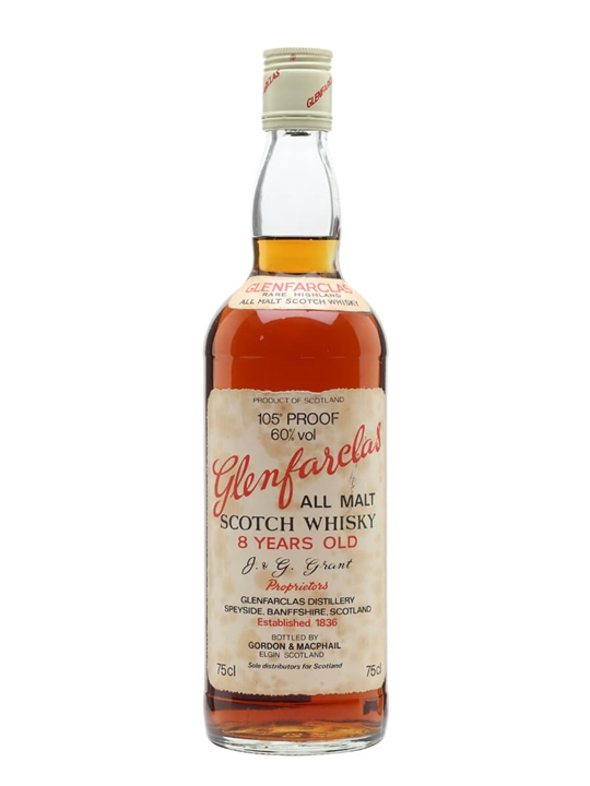 Glenfarclas 8 Year Old / 105' Proof / Bot.1970s Speyside Whisky