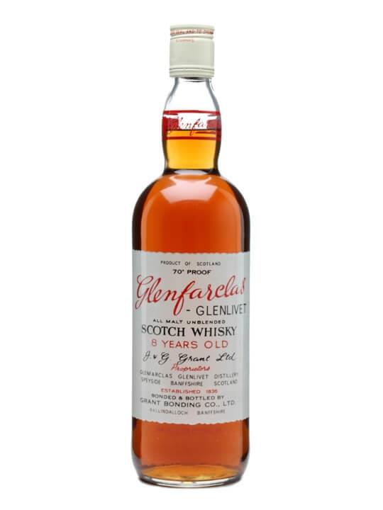 Glenfarclas-Glenlivet 8 Year Old / Bot.1966 Speyside Whisky