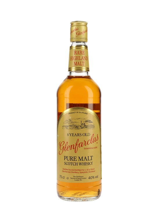 Glenfarclas 8 Year Old / Bot.1980s Speyside Single Malt Scotch Whisky